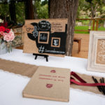 Burgundy & Pink Hill Country Wedding | Pecan Grove